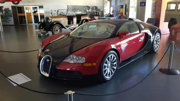Bugatti Veyron Eb 16 4 On Display At The National Motor Museum