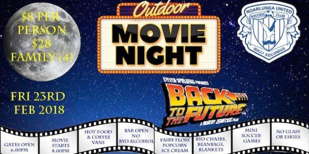 outdoor movie night nourlunga united soccer club
