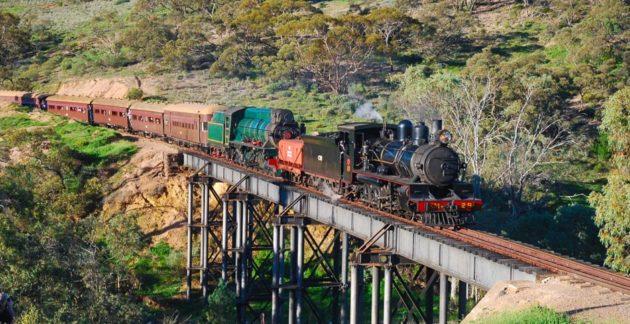 Train Rides in South Australia - Pichi Richi Railway Flinders Ranges