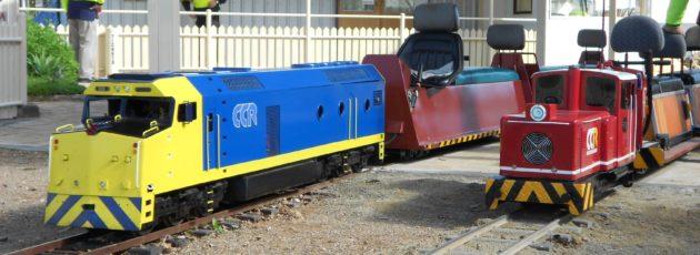 Miniature train rides in Adelaide - Kadina Miniature Trains