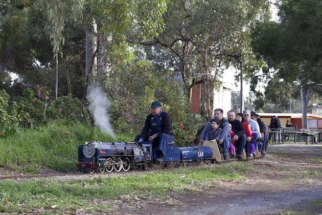 The best spots to see trains in Adelaide - - Adelaide Miniature Steam Railway Club