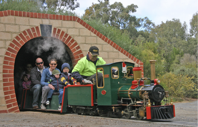 Train Rides in Adelaide - Clare Valley Model Engineers