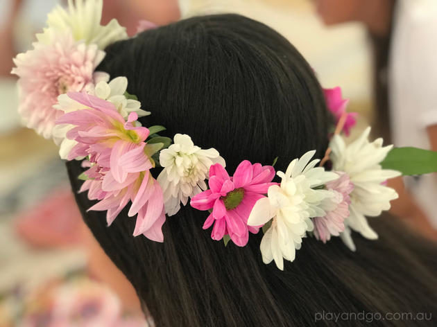 bloom flower crown party adelaide