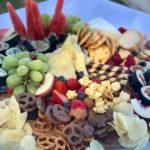 kids birthday party platter flower crown