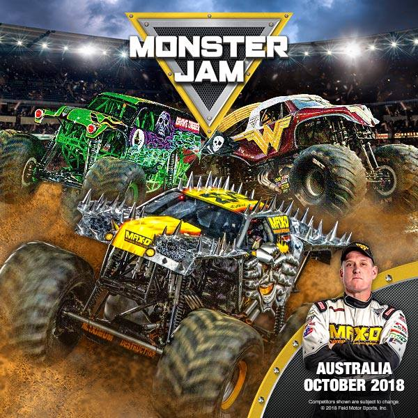 Monster Jam | Adelaide Oval | 6 Oct 2018 - What's on for