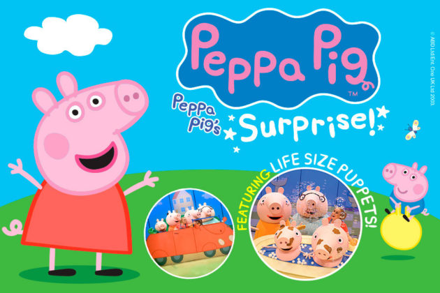 Peppa pig 39 s surprise tour adelaide 2 5 jul 2018 for Pool show adelaide 2018