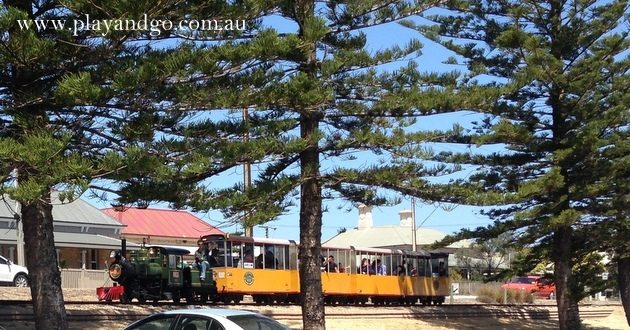 Train Rides in Adelaide - semaphore-trains