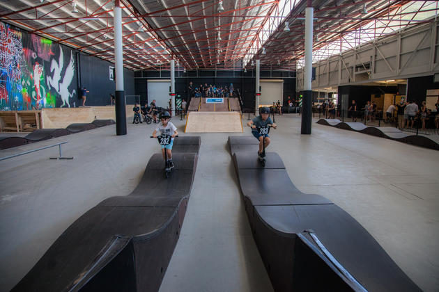 Pumpt School Holiday Sessions Indoor Scooter And Skate Park
