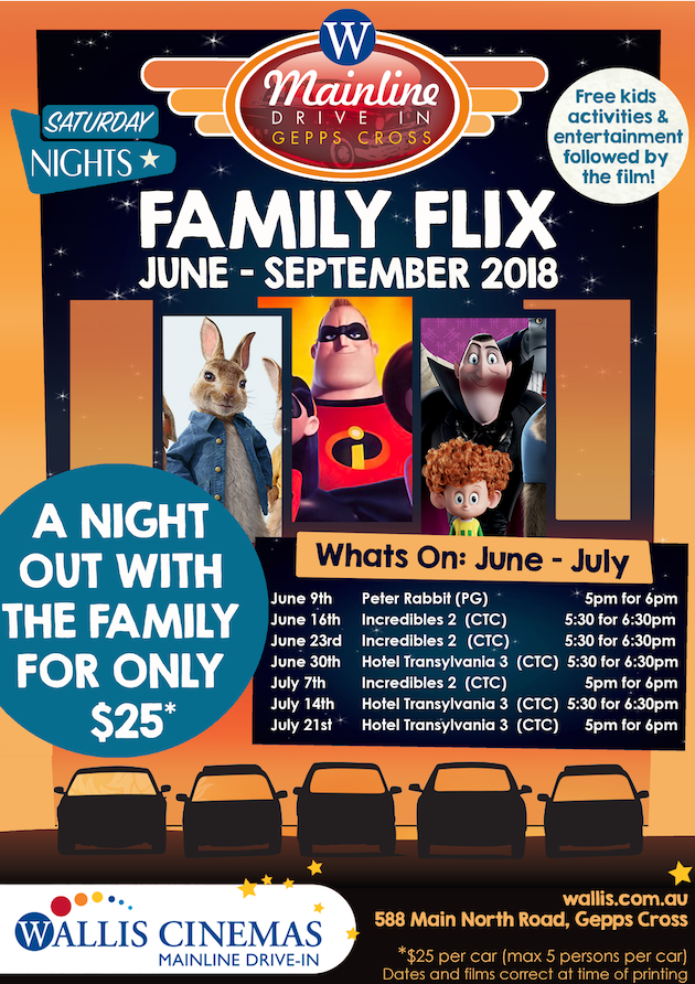 Family Flix drive in movies
