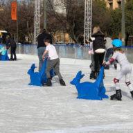 ice skatingat adelaide vic square