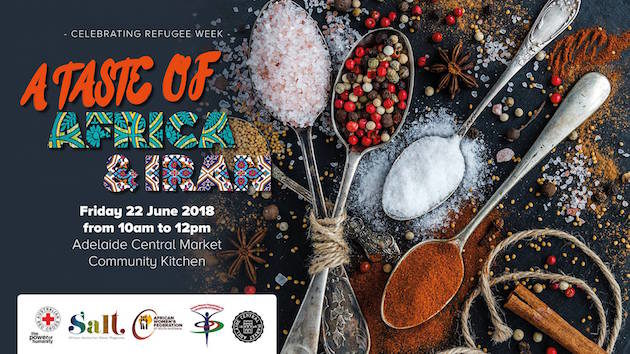 Taste of Africa and Iran | Adelaide Central Market