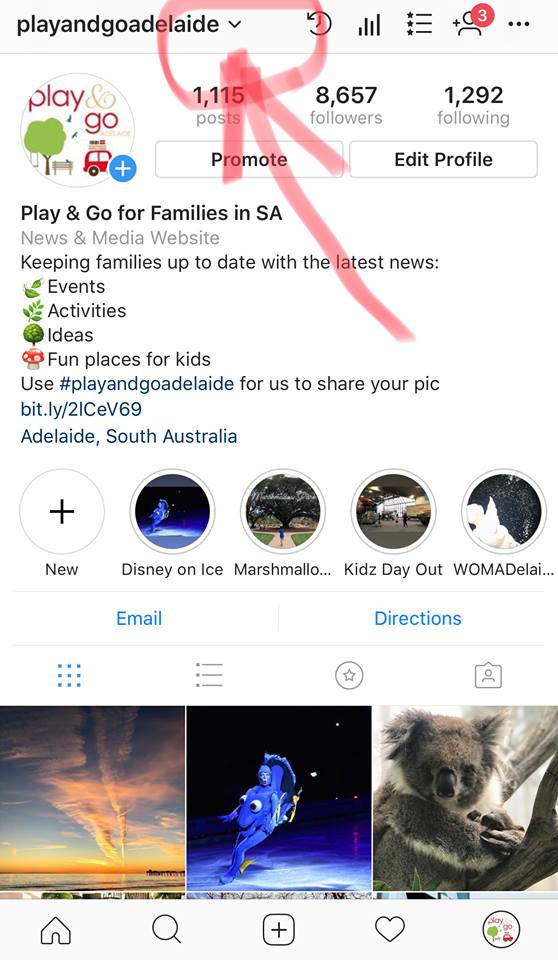 Instagram how to check your child's account
