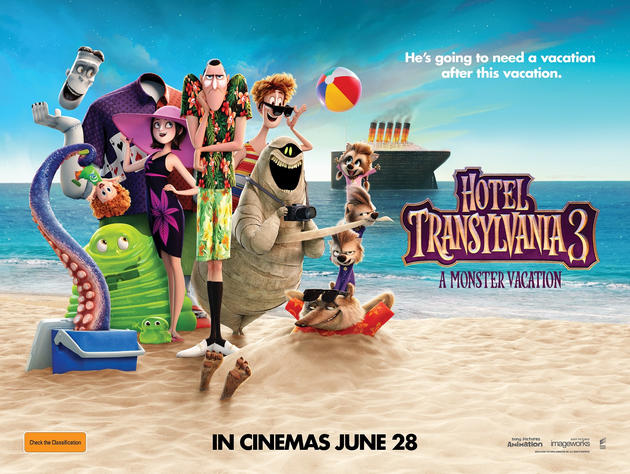 Ended WIN Tickets To Hotel Transylvania 3 A Monster Vacation
