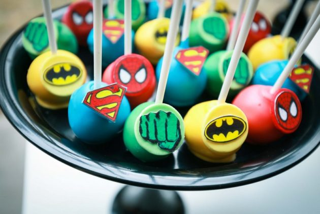 Joker Face Cake Pops