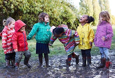 muddy puddle walk