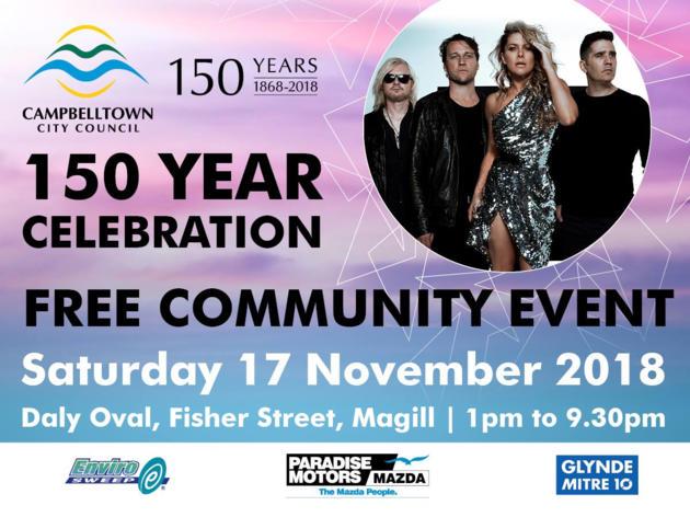 campbelltown 150 year celebration