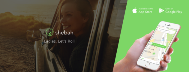 Shebah - All-female rideshare service for women and children