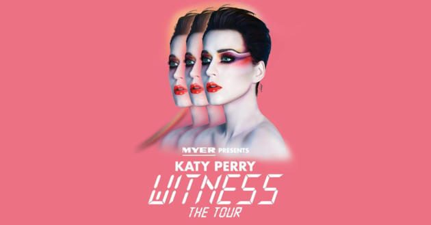 Witness Katy Perry at Westfield Marion | 29 Jul 2018