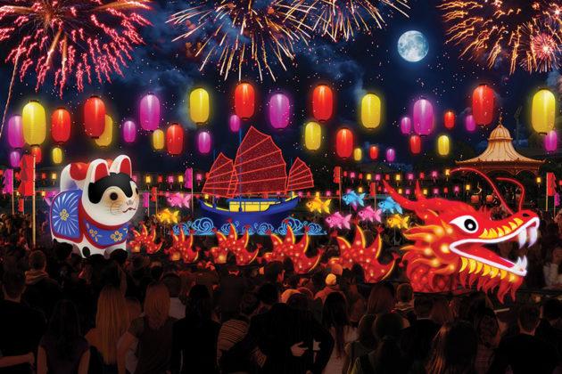ozasia festival moon lantern