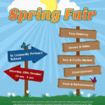 st leonards primary school spring fair