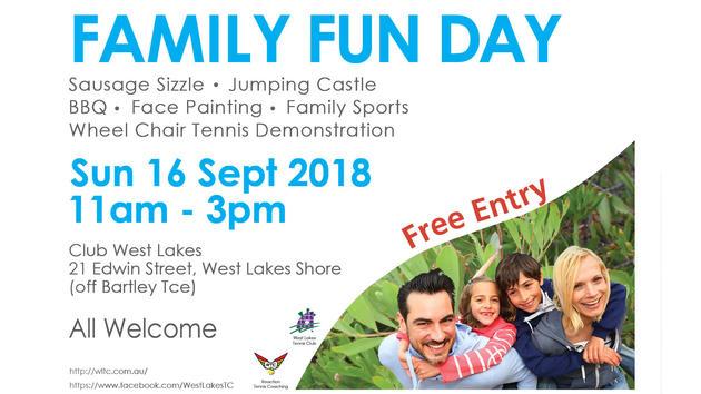west lakes tennis club family fun day