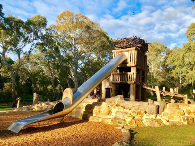 Morialta playground eagles nest
