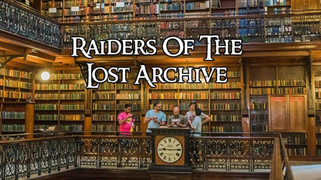 raiders of the lost archive 2