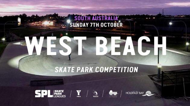 west beach skate park comp