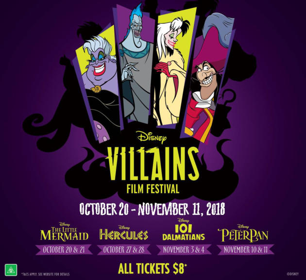villains film festival