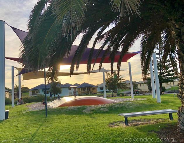 West Beach Parks Resort jumping pillow