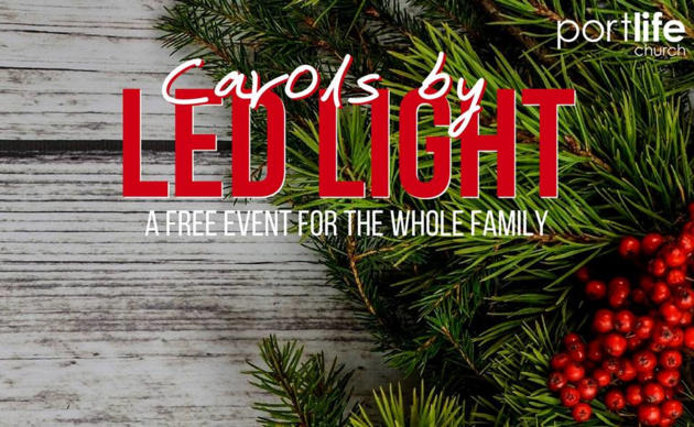 carols by led light