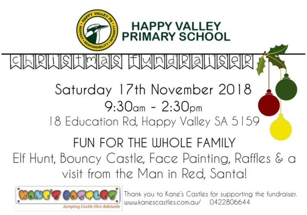 Christmas Fundraiser.Happy Valley Primary School Christmas Fundraiser Market 17