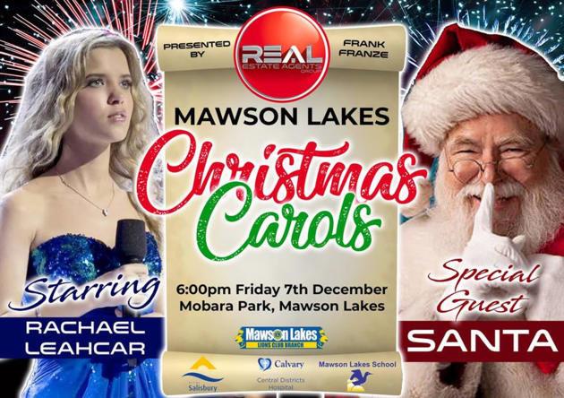 Mawson Lakes Community Christmas Carols   7 Dec 2018 - What's on for Adelaide Families ...