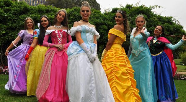 once upon a star princesses