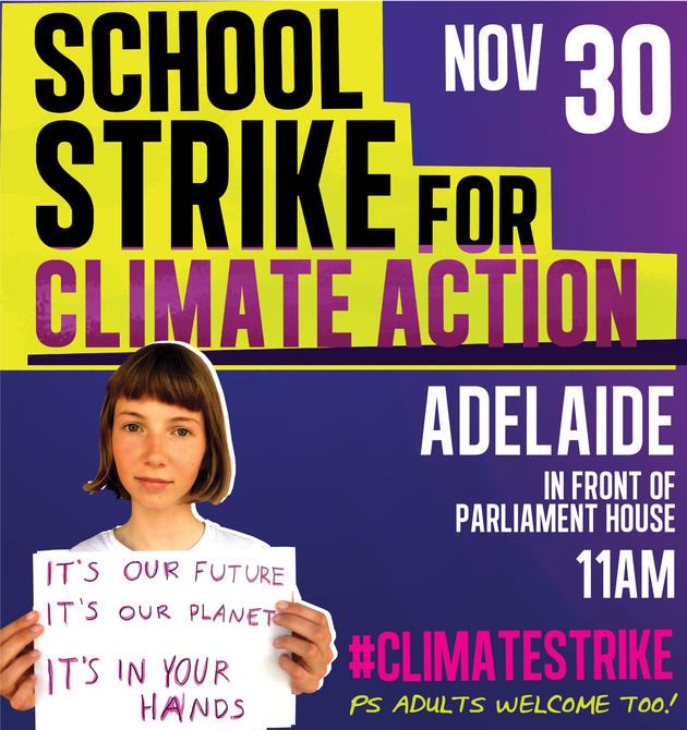 school strike for climate action