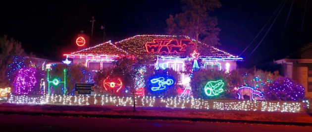 Christmas Light Display Near Me.Adelaide Christmas Lights 2018 Best Streets To See