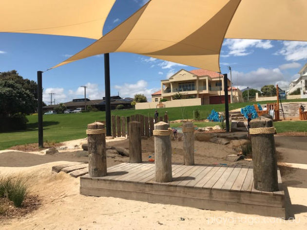 Angus Neill Reserve Seacliff playground review by Susannah Marks