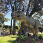 Dinosaurs at Adelaide Zoo