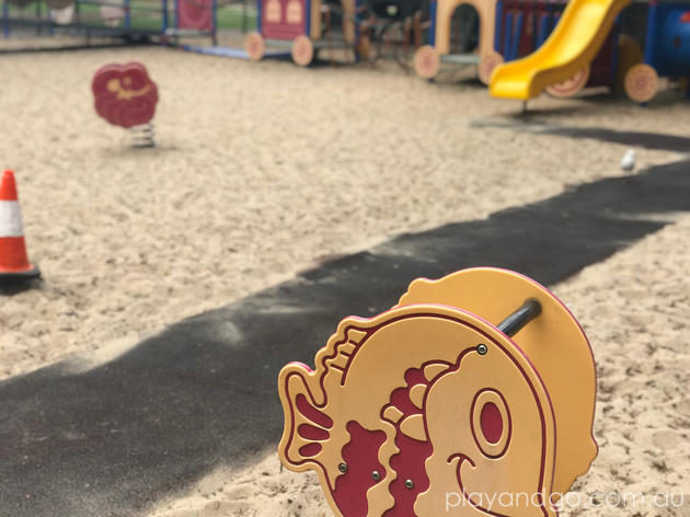GT Fisher Playground aka Victor Harbor Train Park Review by Susannah Marks
