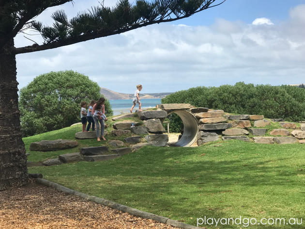 Soldiers Memorial Reserve Victor Harbor Playground review by Susannah Marks