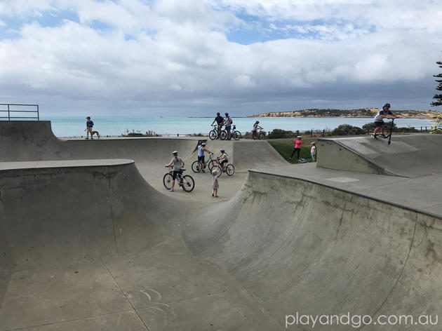 Victor Harbor Skate Park Review by Susannah Marks