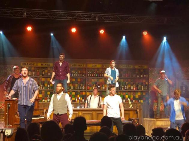 choir of man fringe
