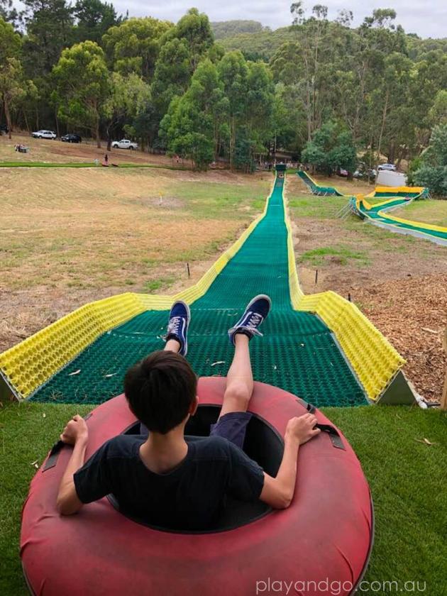 tube slides adelaide