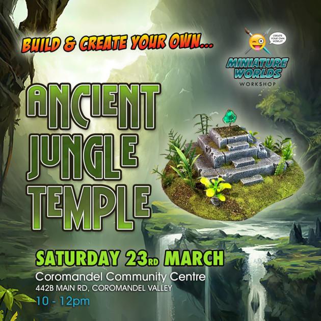 Ancient jungle temples