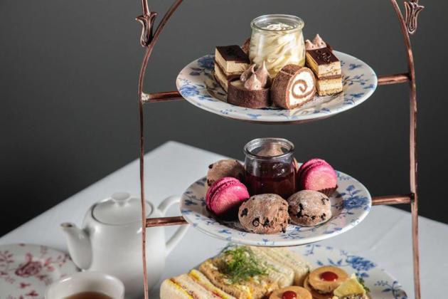 chocolate factory high tea