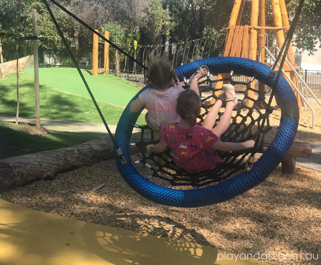 Constable Hyde Memorial Garden Playground Leabrook Playground Review by Susannah Marks