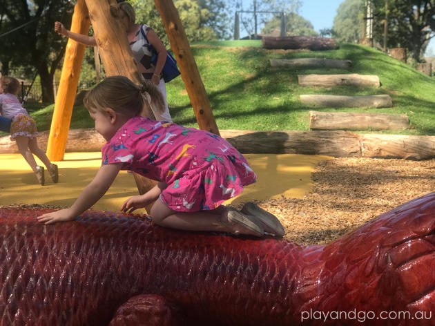 Constable Hyde Memorial Garde Playground Leabrook Playground Review by Susannah Marks