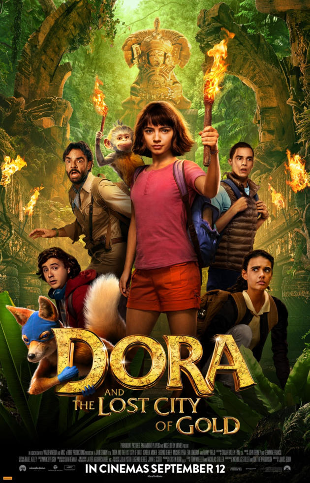Dora and The Lost City Of Gold   In Cinemas 12 Sep 2019