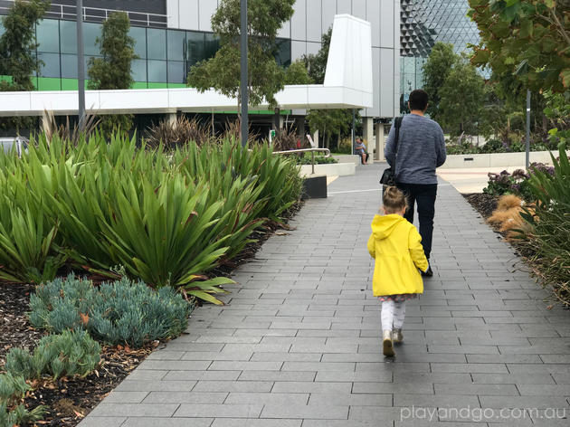 Royal Adelaide Hospital playground and amenities review by Susannah Marks