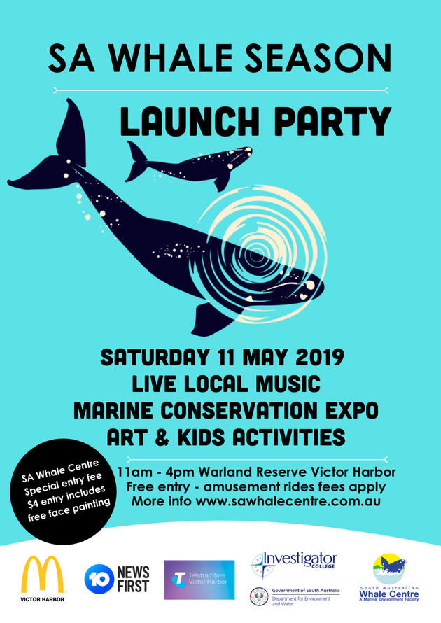 SA Whale Season Launch Party